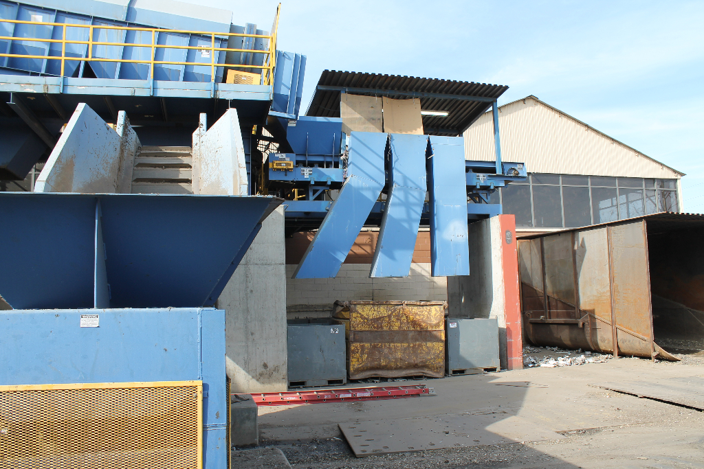 largest-scrap-metal-shredder-recycling-stockton