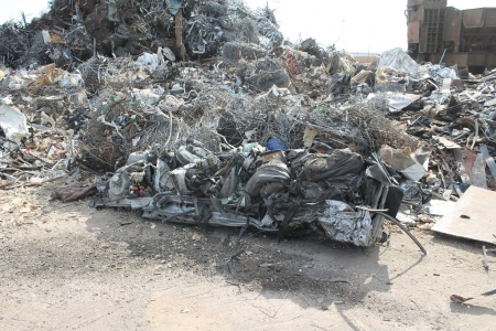 crushed-car-for-recycling-stockton