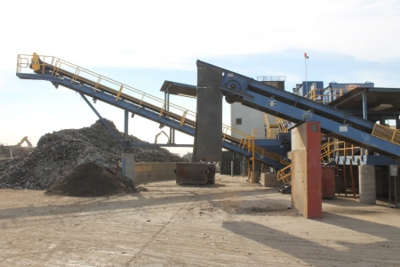 metal-shredding-machine-recycling-stockton